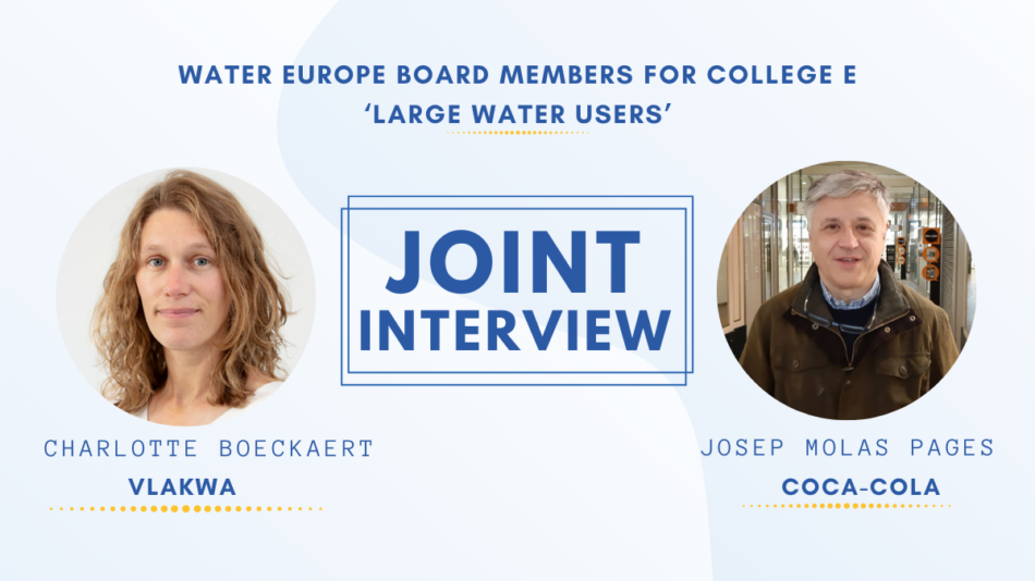 Interview water europe charlotte